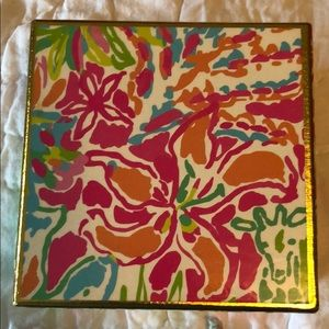 Lilly Pulitzer small lacquer box